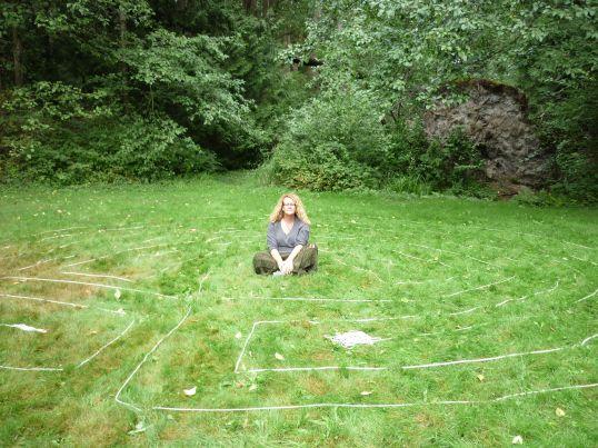 Camping Labyrinth
