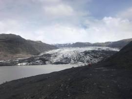 Sólheimajökull glacial tongue, coming off the Mýrdalshreppur ice cap
