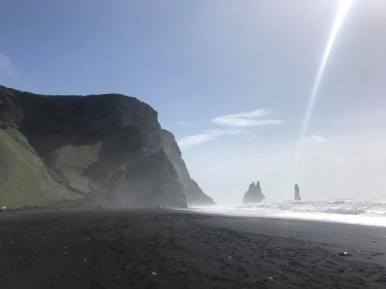 Black Sand Beach, near Vik