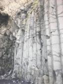 Basalt columns, black sand beach, near Vik