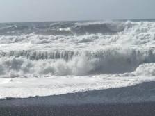 Waves! No land between here and Antarctica